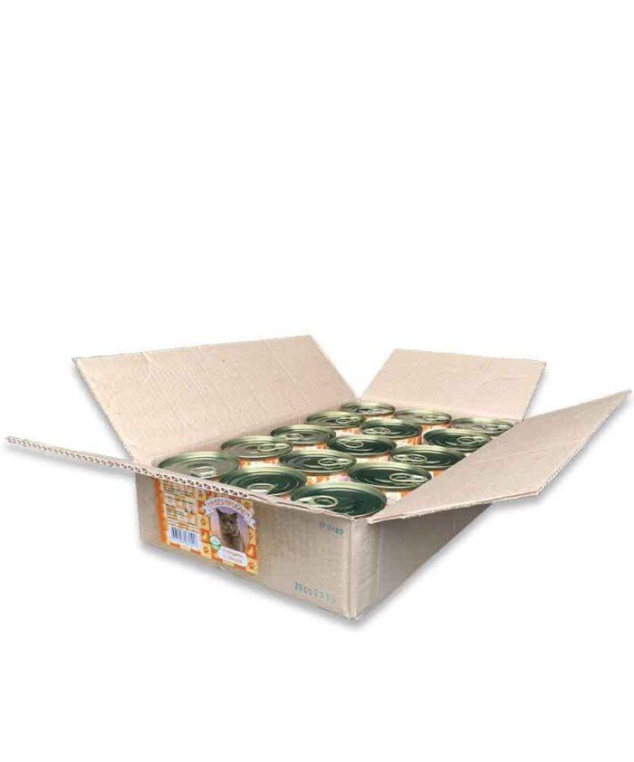 Консервы для кошек Ем Без Проблем Говядина с птицей, 250 г упаковка (20 шт)