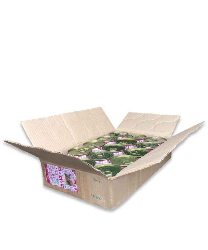 Консервы для кошек Ем Без Проблем Говядина с сердцем, 250 г упаковка (15 шт)