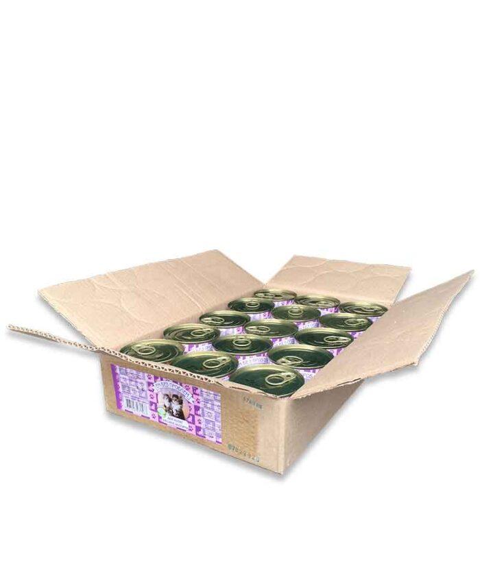 Консервы для котят Ем Без Проблем Мясное ассорти, 250 г упаковка (15 шт)