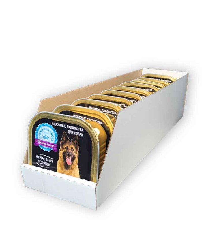 Консервы для собак Натуральная Формула Бычье сердце в желе, 300 г упаковка (10 шт)
