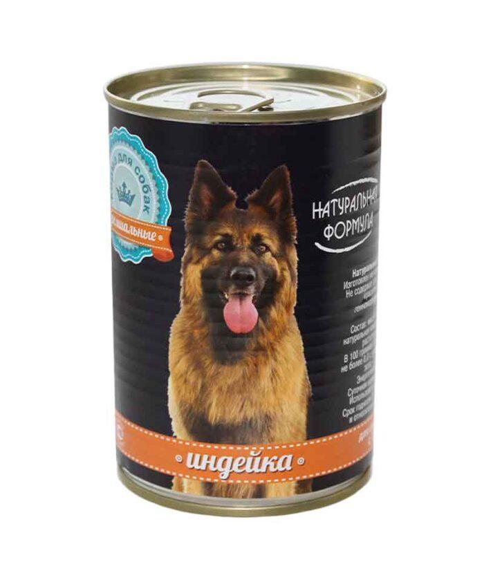 Консервы для собак Натуральная Формула Индейка, 410 г