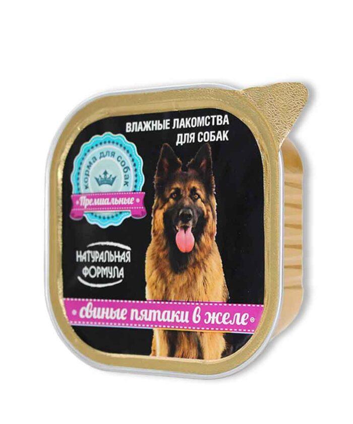 Консервы для собак Натуральная Формула Свиные пятаки в желе, 300 г