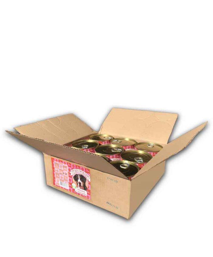 Консервы для собак Ем Без Проблем Говядина с овощами, 750 г (упаковка 9 шт)
