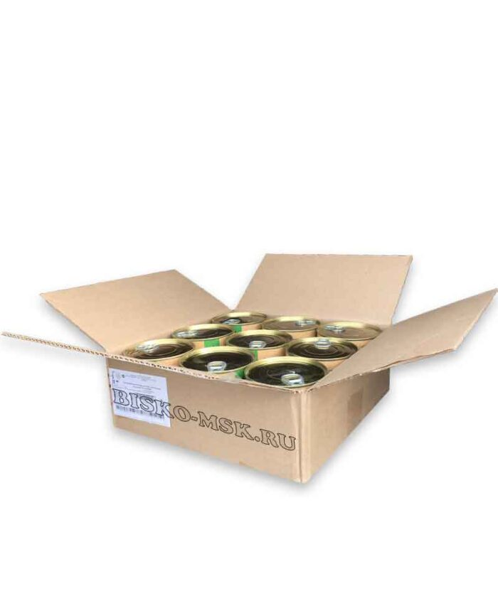 Консервы для собак Биско с диетической индейкой, 750 г (упаковка 9шт)