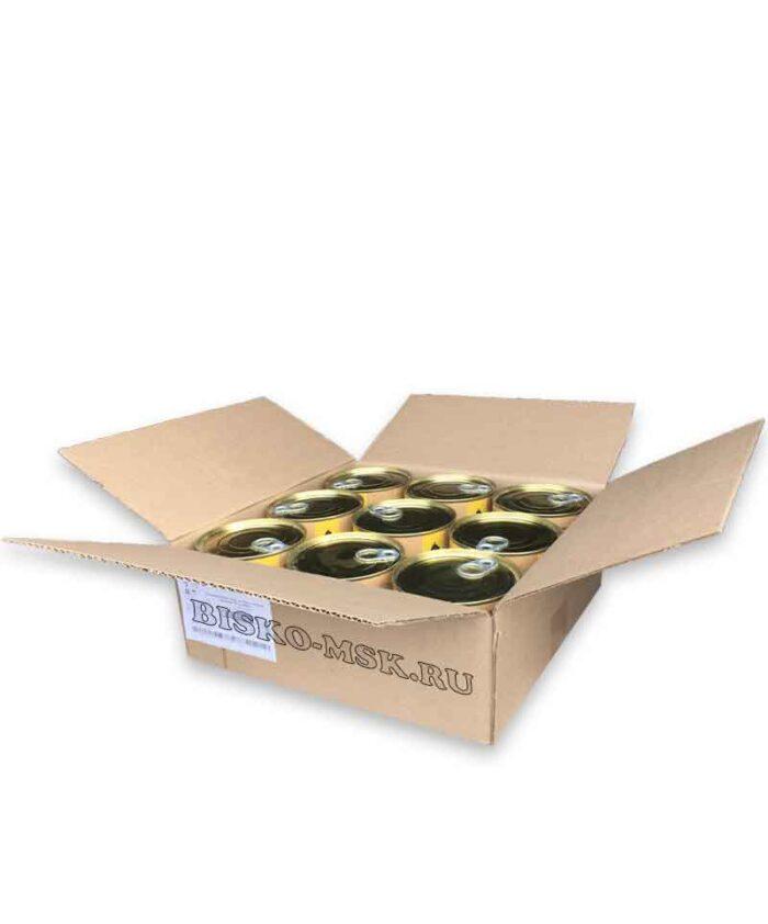 Консервы Биско с отборной говядиной (упаковка 9шт)